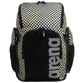 arena Team 45 Allover Backpack, zwart/wit
